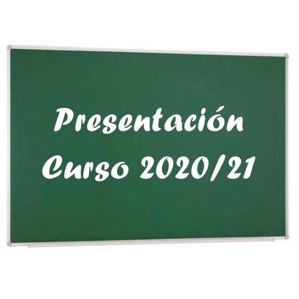 presentacion curso 2020-2021
